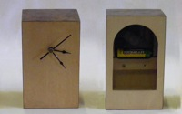 Veneered clocks